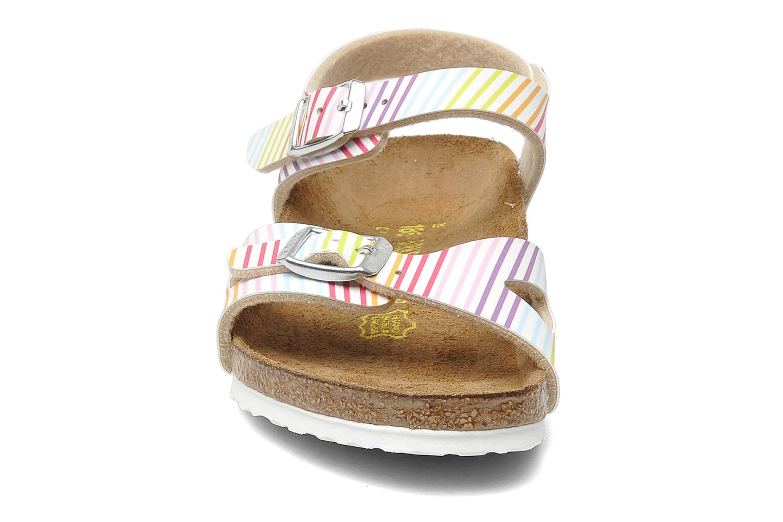 Sandales et nu-pieds Birkenstock Rio Birko Flor Multicolore vue portées chaussures