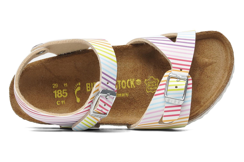 Sandales et nu-pieds Birkenstock Rio Birko Flor Multicolore vue gauche
