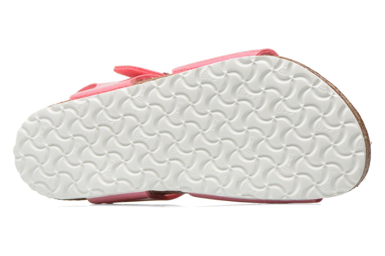 Sandals Birkenstock Rio Birko Flor Pink view from above
