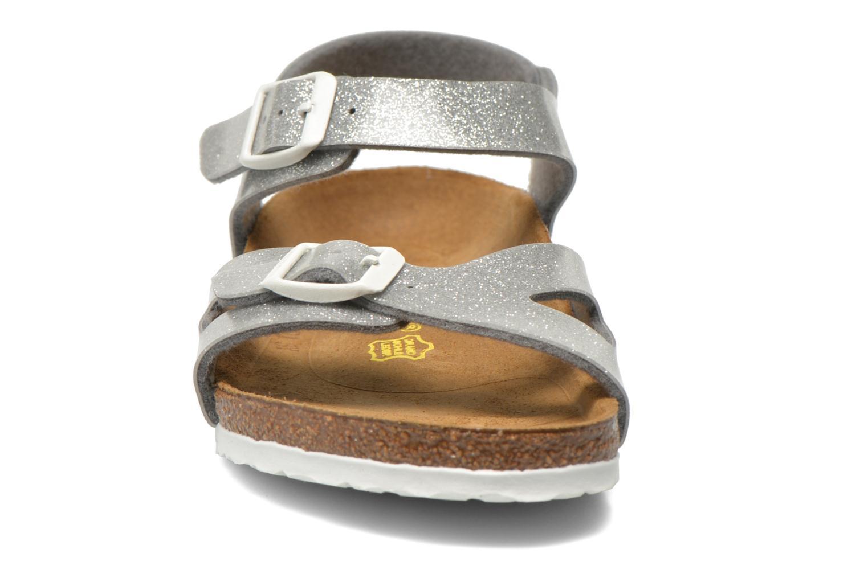 Sandaler Birkenstock Rio Birko Flor Sølv se skoene på