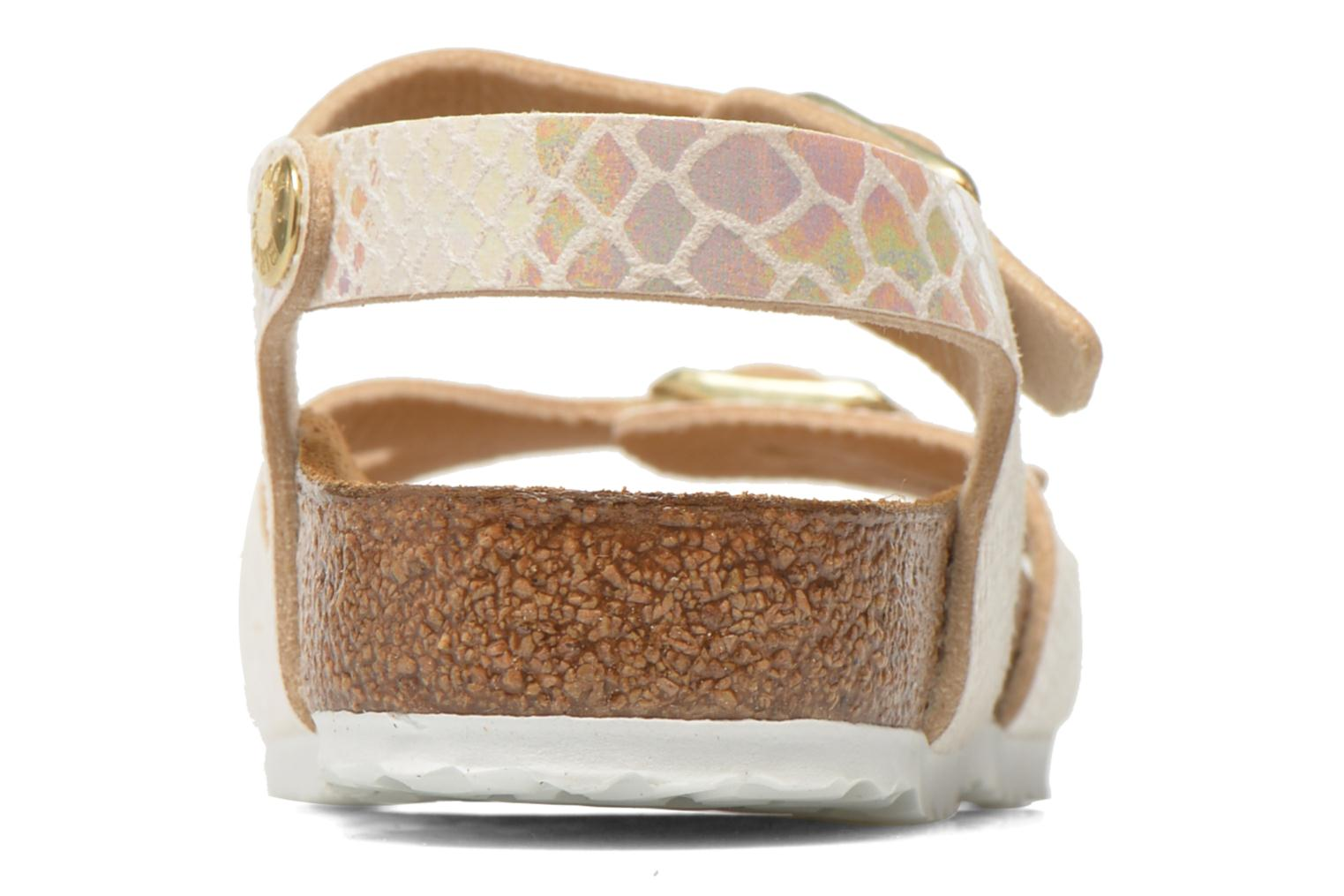 Sandals Birkenstock Rio Birko Flor Multicolor view from the right