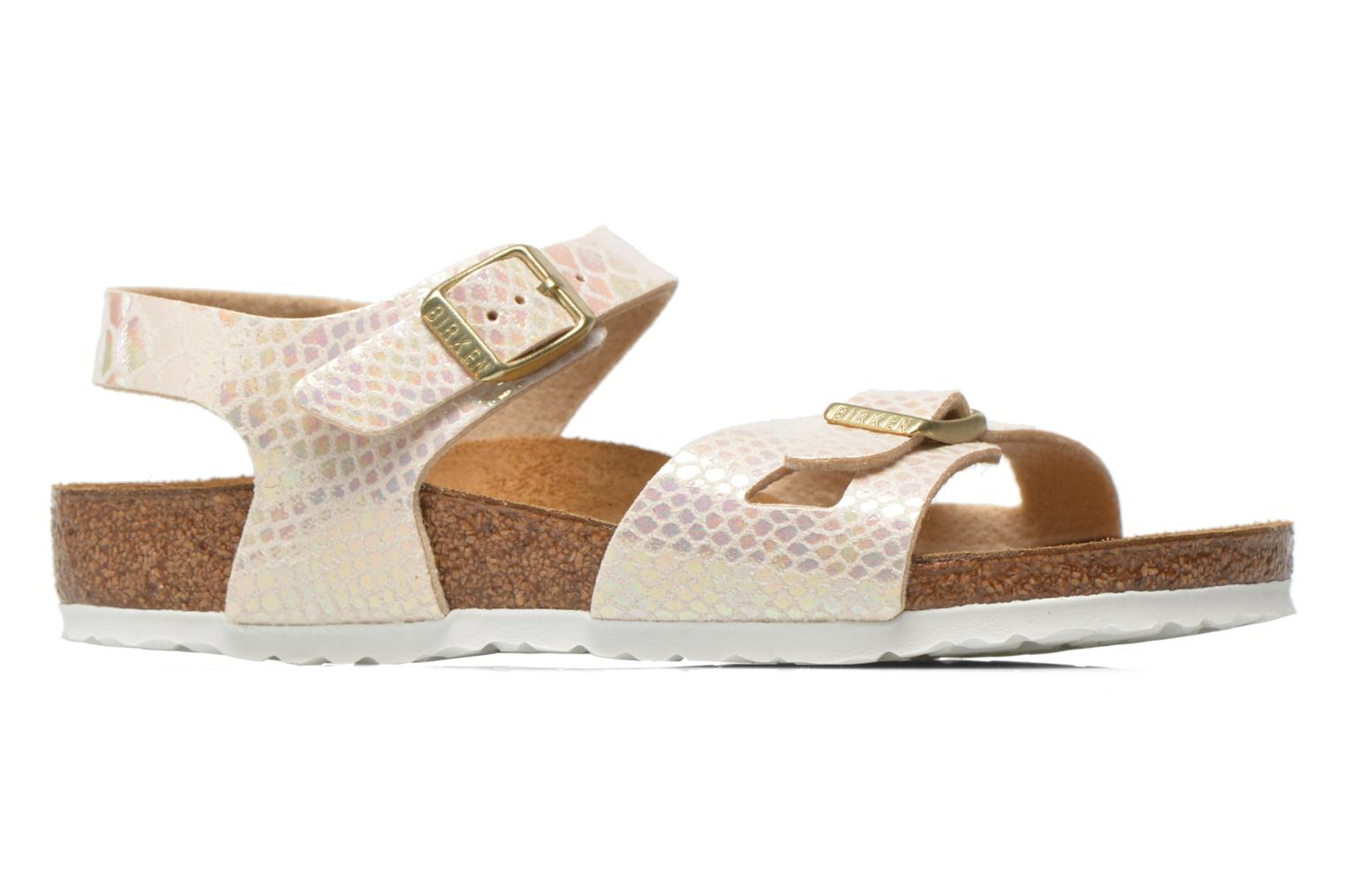 Sandals Birkenstock Rio Birko Flor Multicolor back view