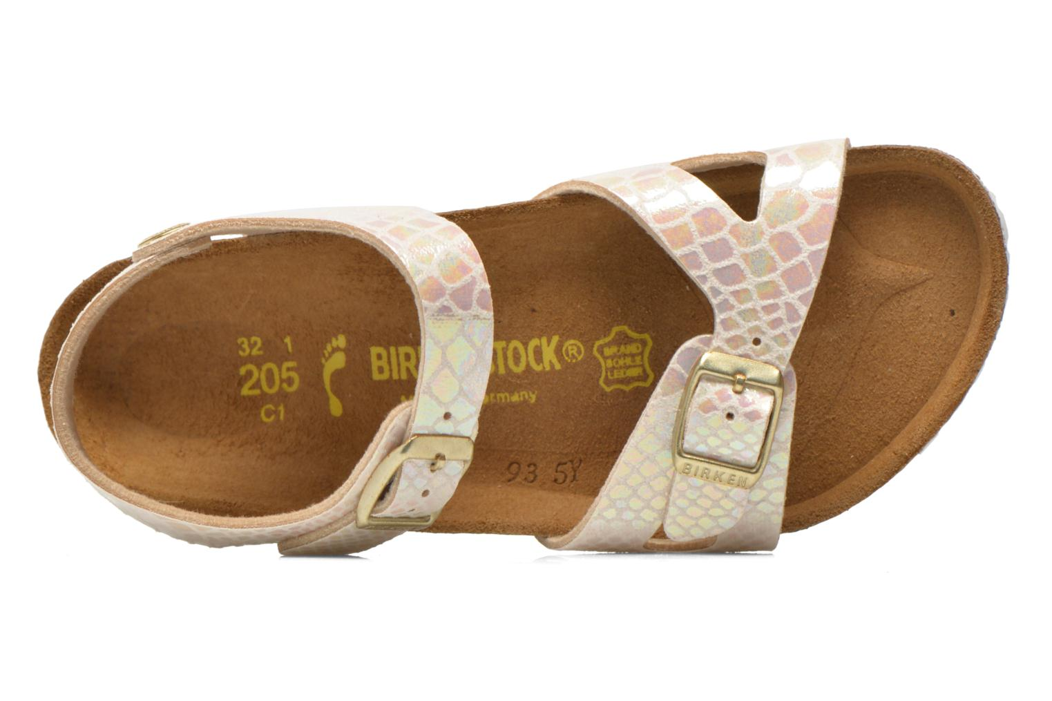 Sandals Birkenstock Rio Birko Flor Multicolor view from the left