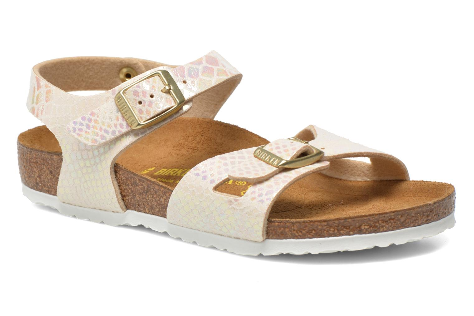 Sandals Birkenstock Rio Birko Flor Multicolor detailed view/ Pair view