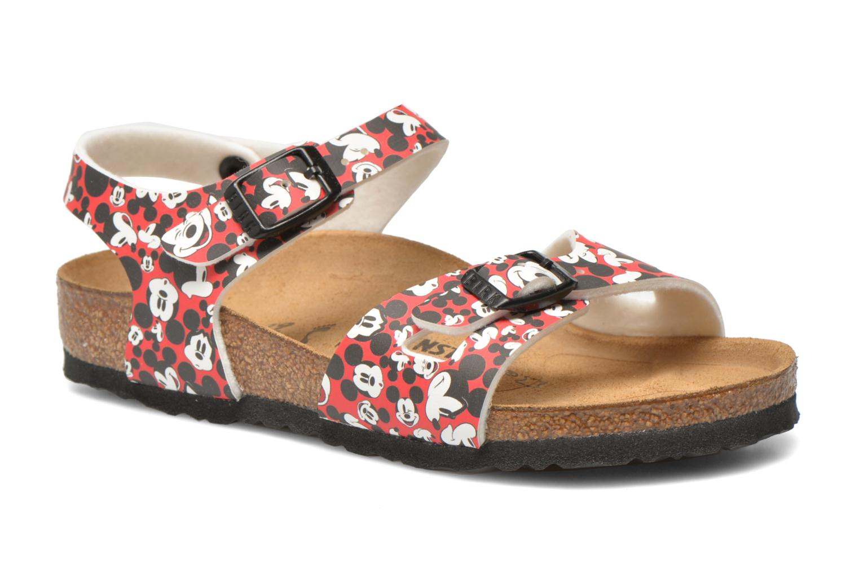 Sandaler Birkenstock Rio Birko Flor Multi detaljeret billede af skoene