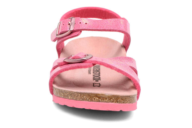 Sandaler Birkenstock Rio Birko Flor Pink se skoene på