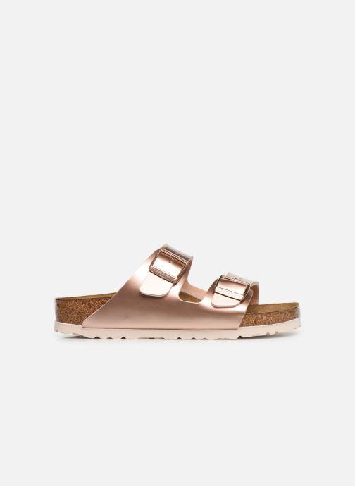 Sandali e scarpe aperte Birkenstock ARIZONA Birko-Flor Rosa immagine posteriore