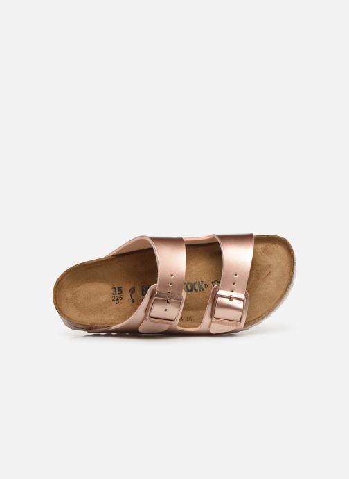 Sandali e scarpe aperte Birkenstock ARIZONA Birko-Flor Rosa immagine sinistra