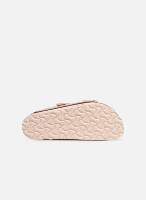 Sandali e scarpe aperte Birkenstock ARIZONA Birko-Flor Rosa immagine dall'alto