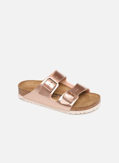 Sandales et nu-pieds Birkenstock ARIZONA Birko-Flor Rose vue détail/paire
