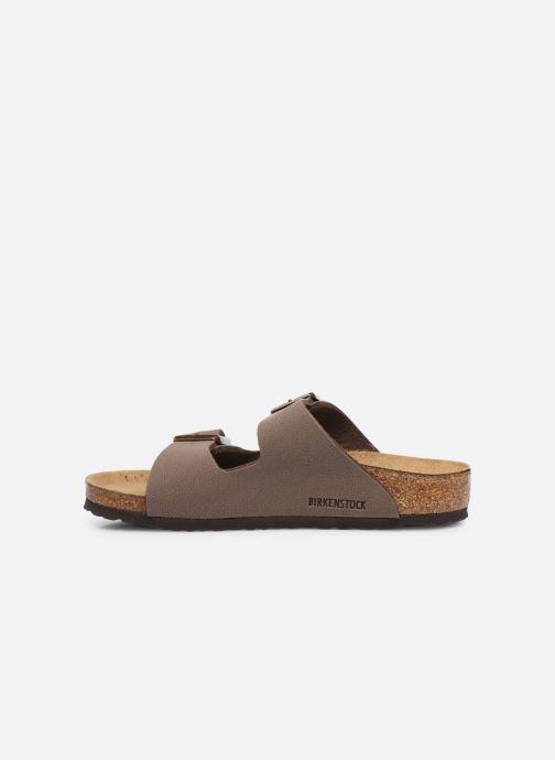 Sandales et nu-pieds Birkenstock ARIZONA Birko-Flor Marron vue face