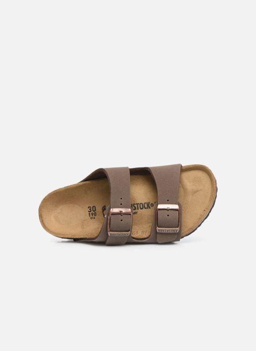 Sandales et nu-pieds Birkenstock ARIZONA Birko-Flor Marron vue gauche