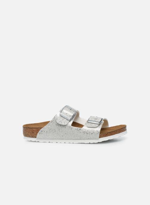 Sandali e scarpe aperte Birkenstock ARIZONA Birko-Flor Argento immagine posteriore