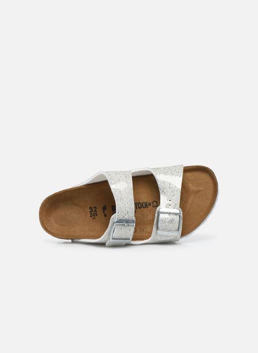 Sandales et nu-pieds Birkenstock ARIZONA Birko-Flor Argent vue gauche