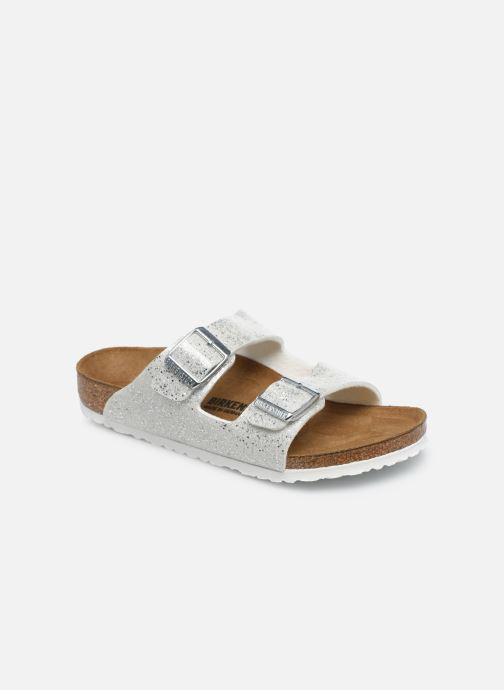 Sandales et nu-pieds Birkenstock ARIZONA Birko-Flor Argent vue détail/paire