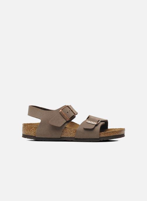 Sandali e scarpe aperte Birkenstock New York Birko Flor Marrone immagine posteriore