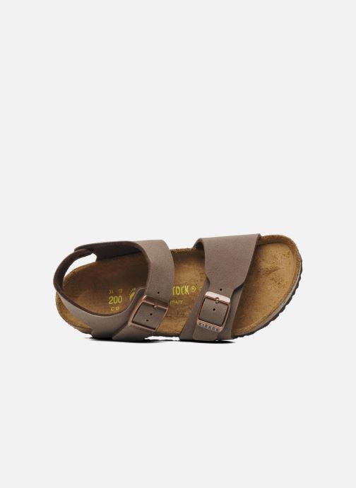 Sandali e scarpe aperte Birkenstock New York Birko Flor Marrone immagine sinistra