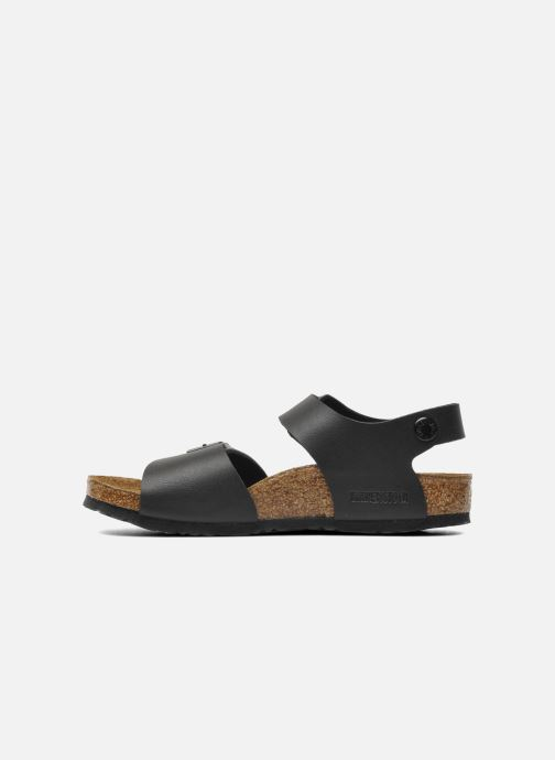 Sandales et nu-pieds Birkenstock New York Birko Flor Noir vue face