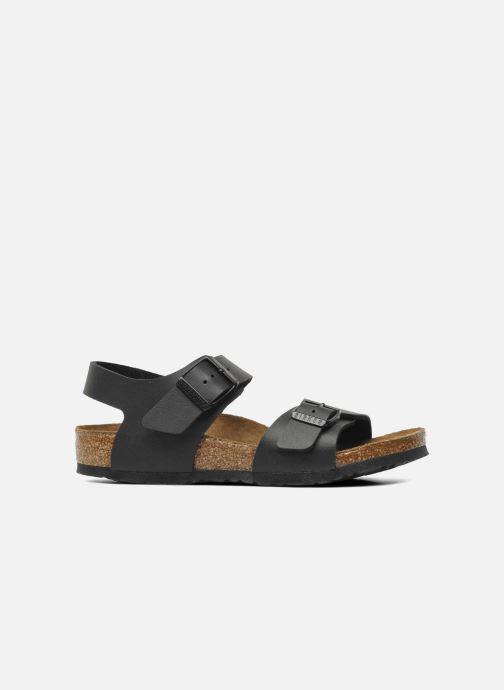 Sandales et nu-pieds Birkenstock New York Birko Flor Noir vue derrière