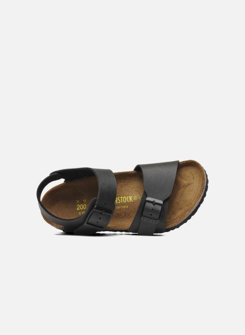 Sandales et nu-pieds Birkenstock New York Birko Flor Noir vue gauche