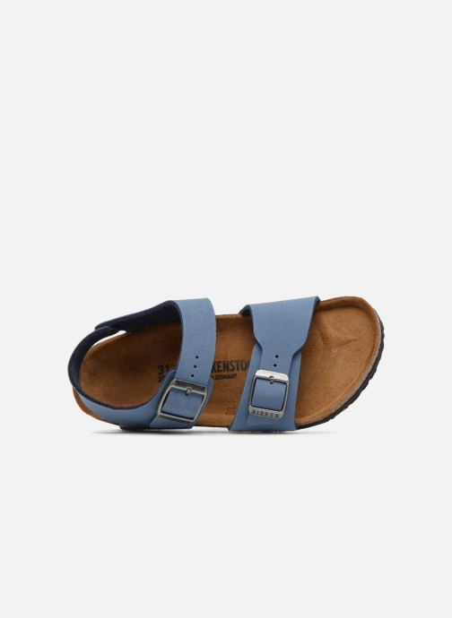 Sandals Birkenstock New York Birko Flor Blue view from the left