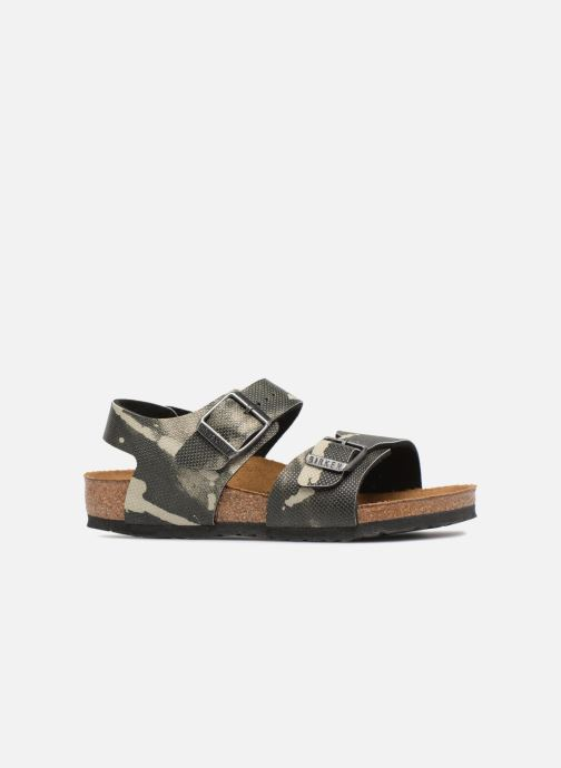 Sandali e scarpe aperte Birkenstock New York Birko Flor Grigio immagine posteriore