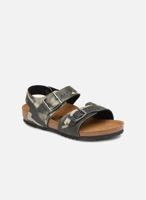 Sandali e scarpe aperte Birkenstock New York Birko Flor Grigio vedi  dettaglio paio 64d9946c6f7