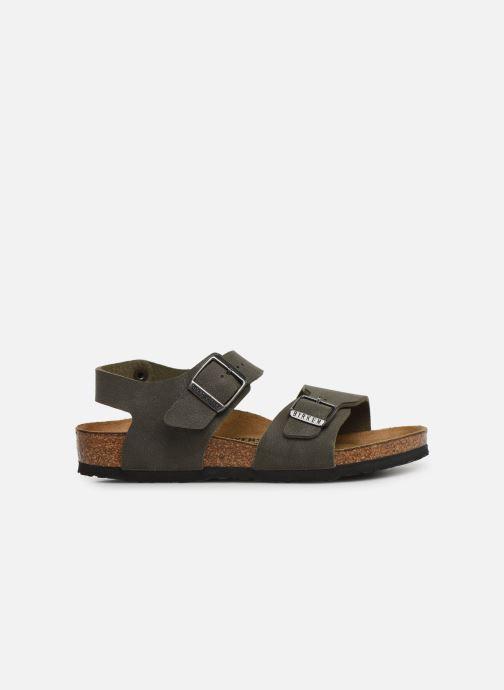 Sandales et nu-pieds Birkenstock New York Birko Flor Marron vue derrière