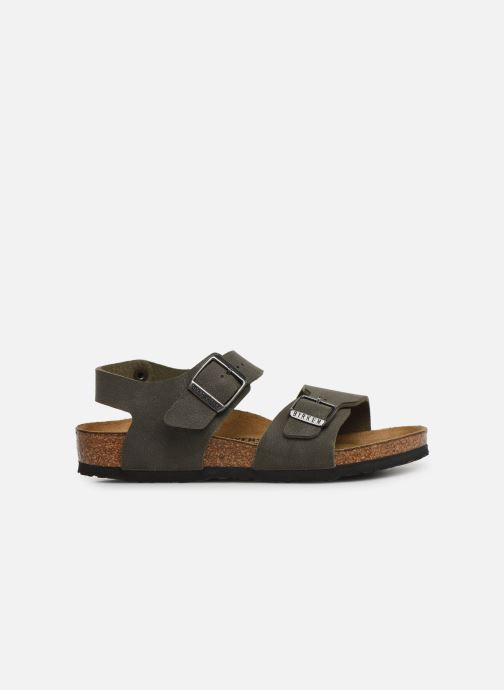 Sandals Birkenstock New York Birko Flor Brown back view