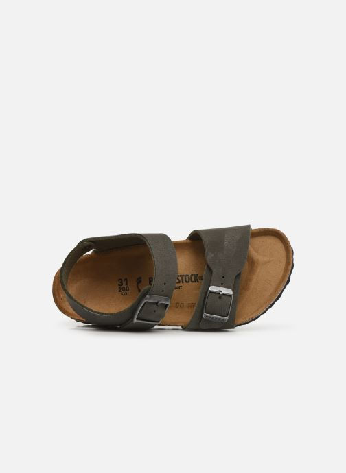 Sandals Birkenstock New York Birko Flor Brown view from the left