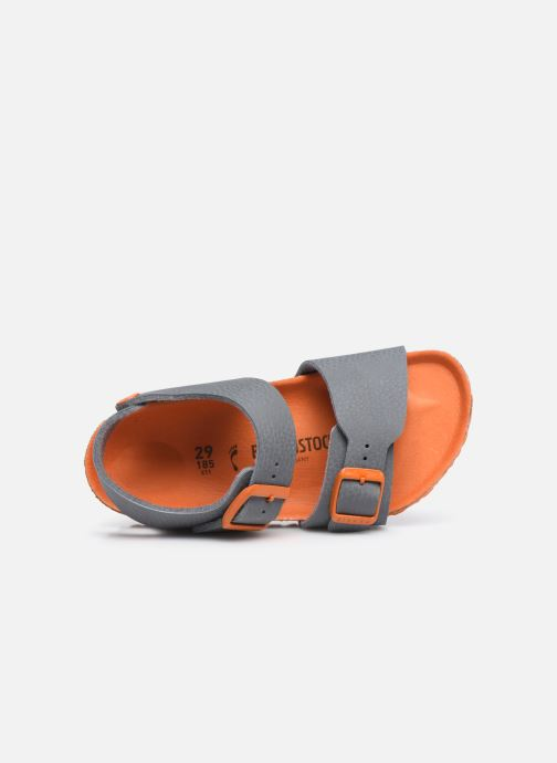 Sandali e scarpe aperte Birkenstock New York Birko Flor Grigio immagine sinistra
