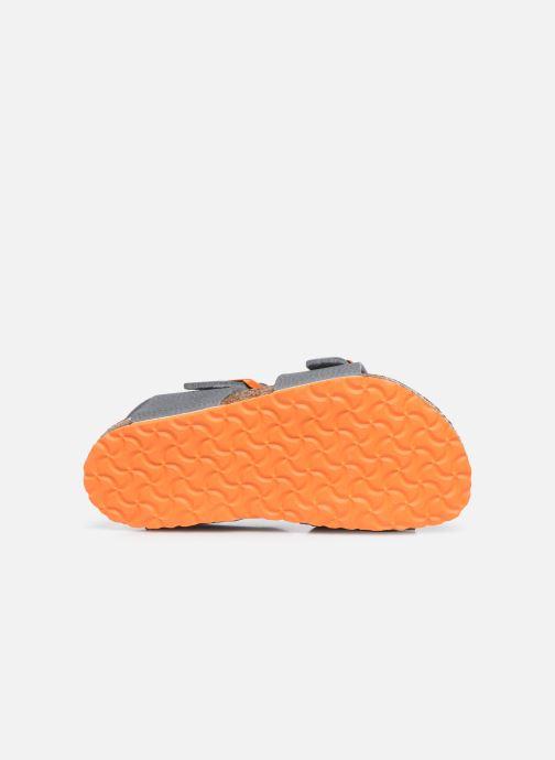 Sandali e scarpe aperte Birkenstock New York Birko Flor Grigio immagine dall'alto