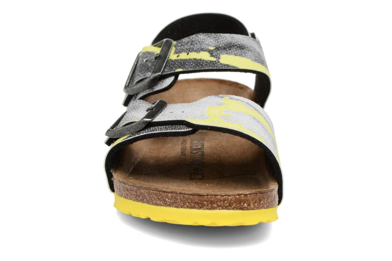 Sandales et nu-pieds Birkenstock New York Birko Flor Multicolore vue portées chaussures
