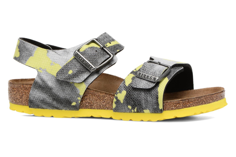 Sandales et nu-pieds Birkenstock New York Birko Flor Multicolore vue derrière