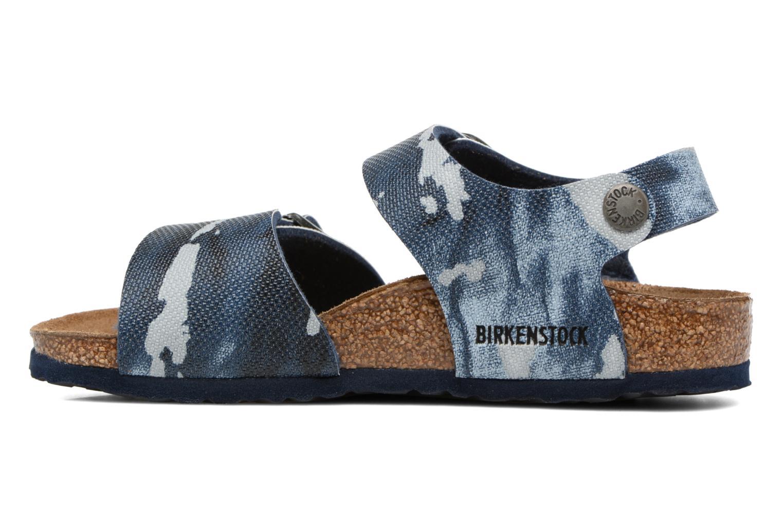 Sandales et nu-pieds Birkenstock New York Birko Flor Multicolore vue face