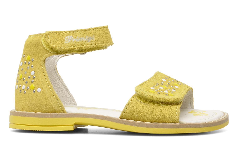 Sandales et nu-pieds Primigi AAMINA Jaune vue derrière