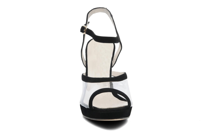 Sandalen Georgia Rose Artemis schwarz schuhe getragen