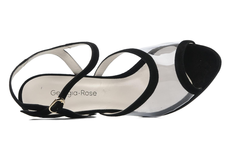 Sandales et nu-pieds Georgia Rose Artemis Noir vue gauche
