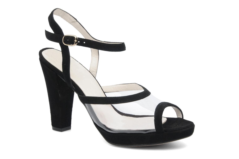 Sandalen Georgia Rose Artemis schwarz detaillierte ansicht/modell