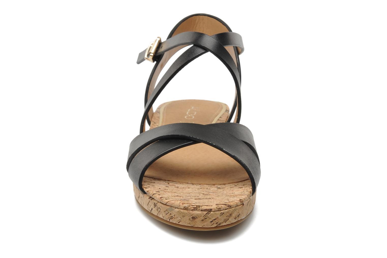 Sandales et nu-pieds Aldo BOUND Noir vue portées chaussures