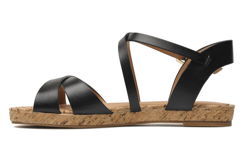 Sandales et nu-pieds Aldo BOUND Noir vue face