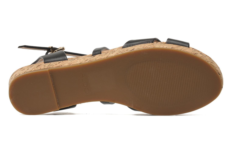 Sandales et nu-pieds Aldo BOUND Noir vue haut