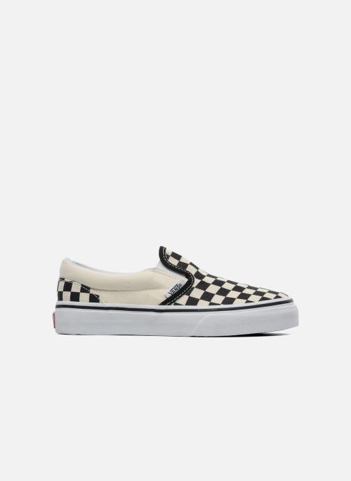 Sneakers Vans Classic Slip-On E Wit achterkant