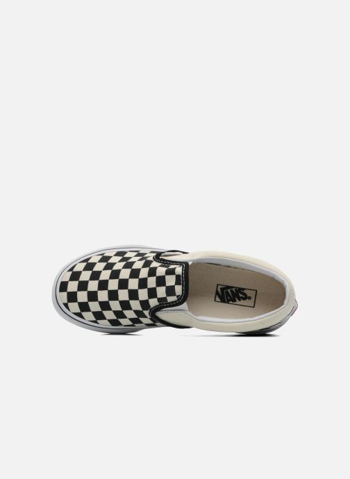 Sneakers Vans Classic Slip-On E Bianco immagine sinistra
