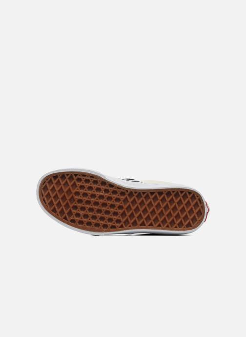 Baskets Vans Classic Slip-On E Blanc vue haut