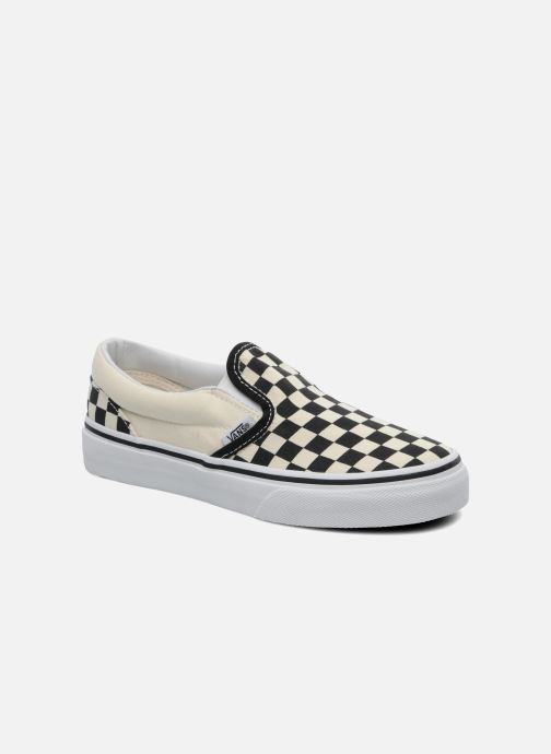 Baskets Vans Classic Slip-On E Blanc vue détail/paire