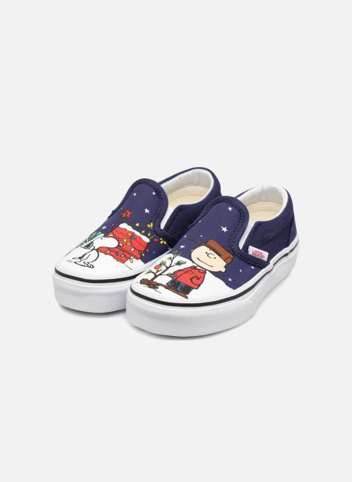 Sneakers Vans Classic Slip-On E Azzurro immagine 3/4