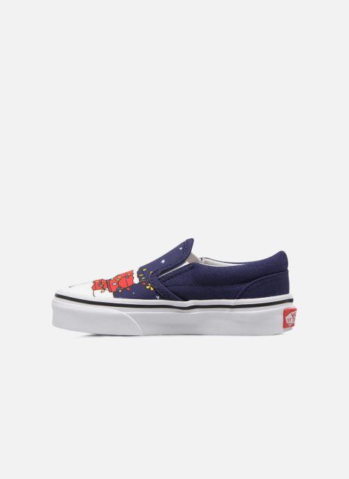 Sneakers Vans Classic Slip-On E Azzurro immagine frontale