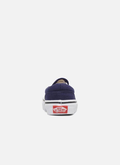 Sneakers Vans Classic Slip-On E Azzurro immagine destra