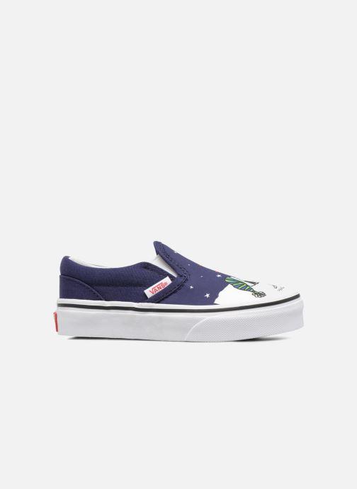 Sneakers Vans Classic Slip-On E Azzurro immagine posteriore